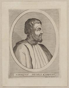 Portret van Albertus Pighius (1490-1542)