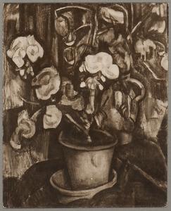 Bloemstilleven in een pot