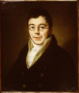Portret van Johann Georg Everardus Gijsbert Stierling (1783-1863)