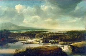 Nederlands rivierlandschap