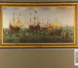 Terugkomst in Amsterdam van de Tweede Expeditie naar Oost-Indie onder bevel van Jacob van Neck, 19 juli 1599