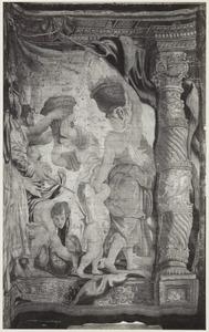 De Israëlieten verzamelen het manna
