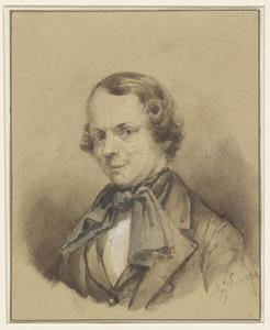 Portret van Marinus Jacobus Stucki (1809-1899)