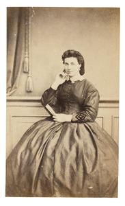 Portret van Theresia Maria Ida Donkersloot (1848-1915)