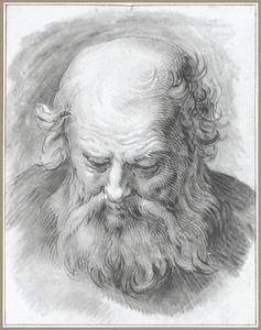 Kop van een oude man