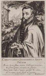 Portret van Christian van den Queborn (1515-1578)