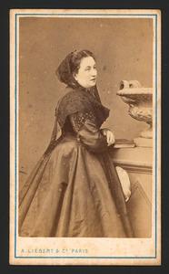 Portret van Pauline M.J.F. de Gobart (1829-1890)