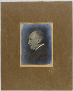 Portret van Simon Maris en profil