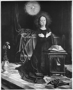 De annunciatie (Maria) (het Cervara-Altaar)