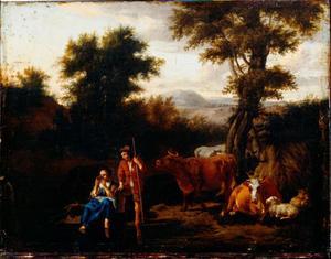 Boeren en vee