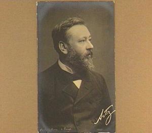 Portret van de schilder D.A.C. Artz (1837-1890)