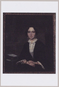 Portret van Dieuwertje Sevenhuijsen (1831-1860)