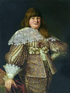 Portret van prins Wladyslaw Dominik Zasławski-Ostrogski (voor 1618-1656)