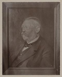 Portret van een oude man