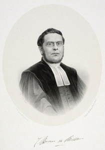Portret van Jan Herman de Ridder ( -1893)