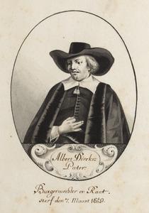 Portret van Albert Pater (....-1659)