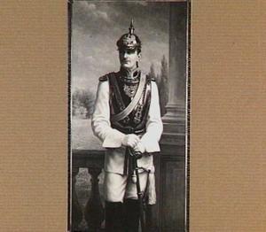 Portret van H.E.K.L.H. Reichsgraf von Pückler (1873-1915)