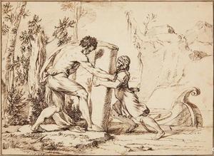 Oprichting van de Zuilen van Hercules