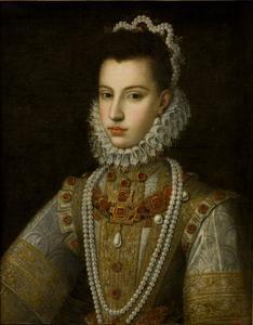 Portret van Catalina Michaela van Spanje (1567-1597)