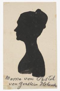 Portret van Charlotte Theodore Justine von Gerstein-Hohenstein (1770-1833)