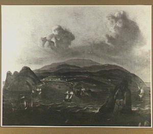 Het eiland Terceira in de Azoren met de hoofdstad Angra do Heroismo