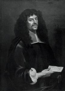 Portret van een man, mogelijk Joachim von Sandrart (1606-1688)