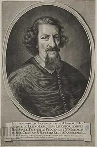 Portret van Andrzej Leszczyński, aartsbisschop van Gniezno (1608-1658)
