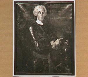 Portret van een man uit het geslacht Van Heeckeren, mogelijk Assueer van Heeckeren (1699-1767)