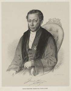 Portret van Jan van der Hoeven (1801-1868)