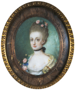 Portret van Heilwich Adriana Amarantha van Lynden (1740-1773)