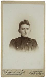 Portret van Bregtje Boersema (1873-1941)