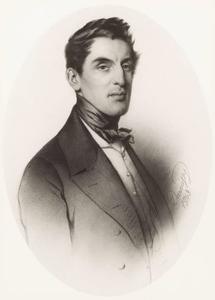 Portret van Eugène Jean Alexander graaf van Bylandt (1807-1876)