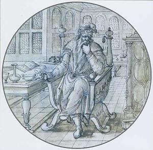 De filosoof Heraclitus