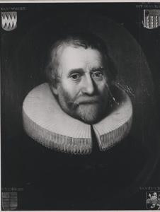 Portret van Gijsbert van der Woert ( -1654)