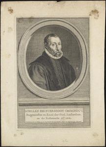 Portret van Adriaen Cromhout (....-1588)