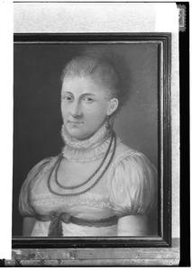 Portret van een vrouw mogelijk Carolina van der Heyden (1793-1862)