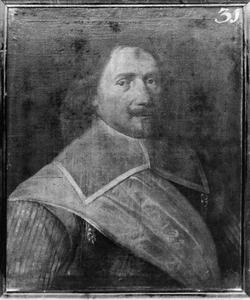 Portret van Peter Molkeman, kapitein in het Noord-Hollands regiment