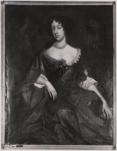 Portret van Maria Beatrice d'Este Modena (1658-1718)