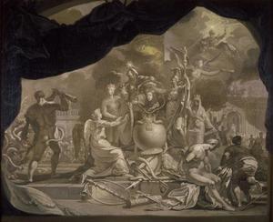 De verheerlijking van Willem III van Oranje-Nassau (1650-1702)