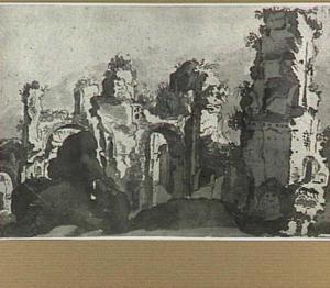 Ruïnes (Rome, thermen van Caracalla?)