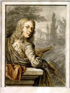 Portret van Jan van Mieris (1630-1690)
