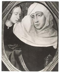 Twee treurende vrouwen (fragment van een 'Bewening')