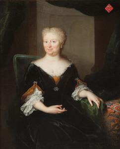 Portret van Wendela Klopper (1666-1733)