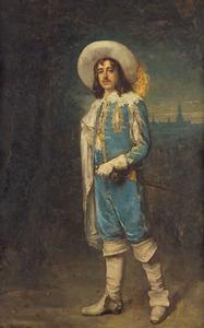 Portret van Carel Roeleman Adolf van Bylandt (1887-1945)