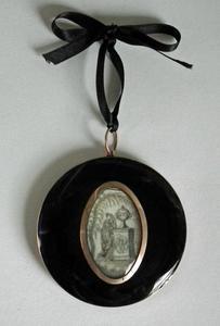 Rouwmedaillon voor Abraham Gevers (1712-1780)