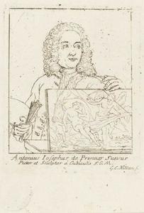 Portret van Anton Joseph von Prenner (1683-1761)