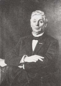 Portret van Willem Petrus de Leur (1844-1924)