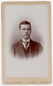 Portret van Johannes Marie van Asch van Wijck (1856-1929)