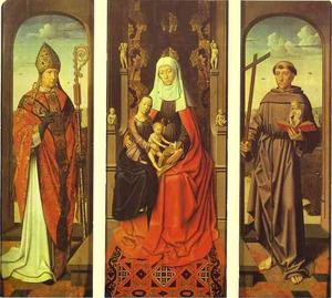 De HH. Anna-te-Drieën, Nicolaas en Antonius van Padua