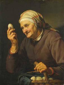 De eierenkoopvrouw